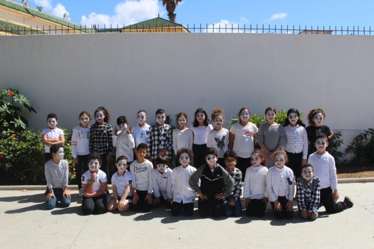Les mimes de la classe de CE1/CE2