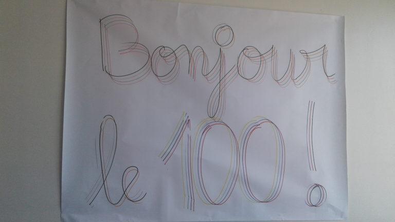La fête du 100ème jour des CPa