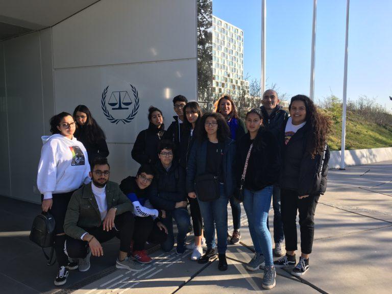 Visite à la Cour Pénale Internationale