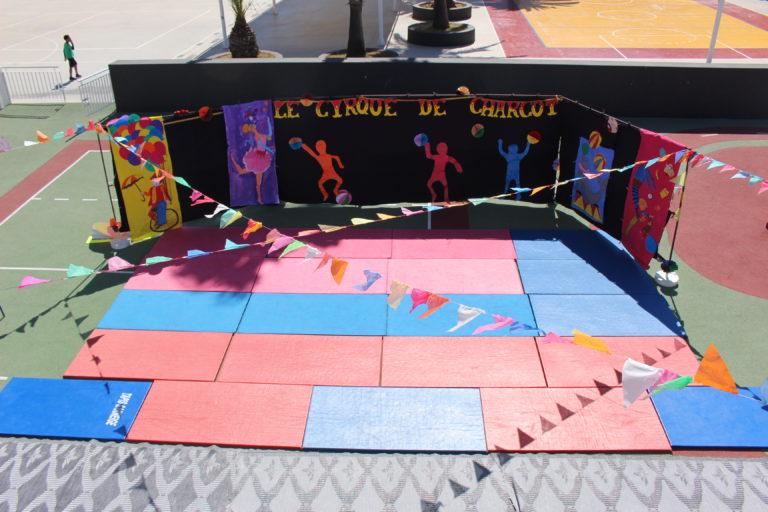 En piste ! Un résumé en photos des 3 spectacles de cirque.