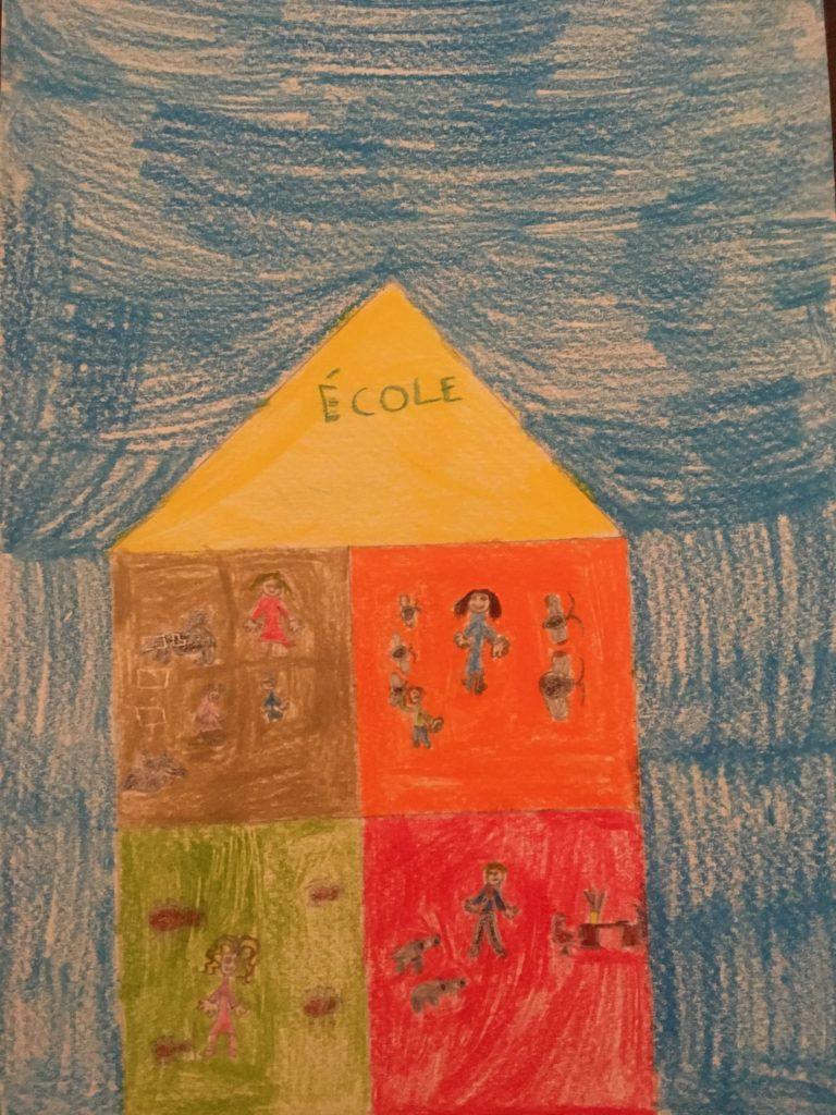 Les classes de notre école – écriture poétique des CE2