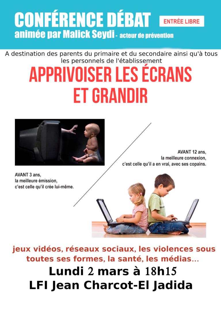 Atelier des parents sur les écrans, réseaux sociaux, médias, jeux vidéos…avec l'association Charnière